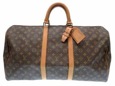 AUTHENTIC LOUIS VUITTON Keepall 55 M41425 Grade AB USED -CJ