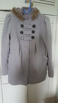 New Look maternity coat size 12