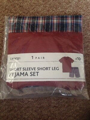 Men's BNWT Pyjama Set - L - Short Sleeve