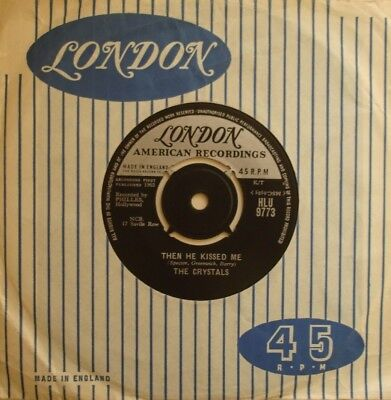 Crystals, Then He Kissed Me / Brother Julius, London, 7Inch 45Rpm