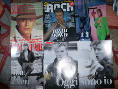 DAVID BOWIE International Clippings / Articles / Articoli / Foto!!