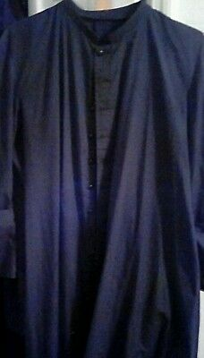 Black cassock Toomey summertime breviary missale vestment chalice