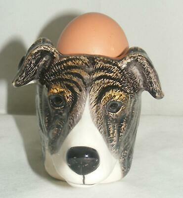 Quail Ceramics Greyhound Face Egg Cuo 979