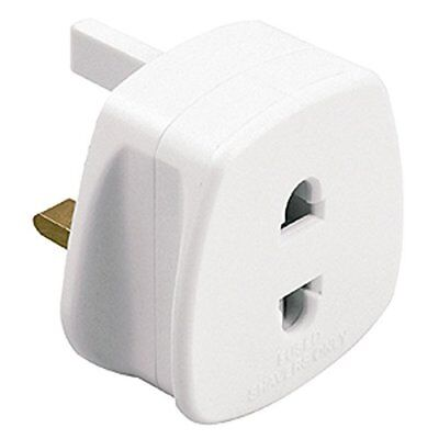1A 3 To 2 Pin Socket Adapter For Shaver Toothbrush European Sockets Plug Bath