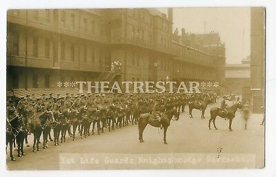 RP KNIGHTSBRIDGE BARRACKS 1st Life Guards MILITARY by Mrs Albert Broom LONDON SW