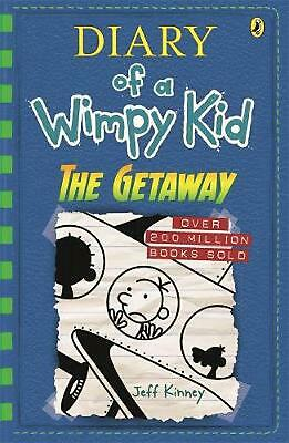 The Getaway: Diary of a Wimpy Kid Book 12 by Jeff Kinney Paperback Book