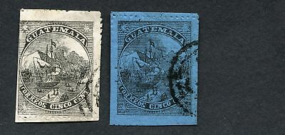 (OC494) Guatemala essays old stamps Ant ships