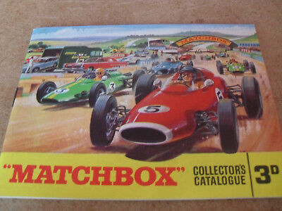 Matchbox Toy Catalogue 1965 Uk Edition Excellent Condition For Age