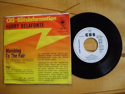 Harry Belafonte - Marching to the fair/Olga  (Promo)