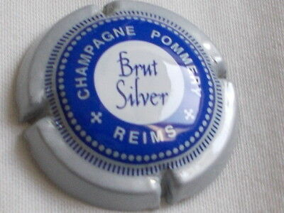 Capsule Champagne POMMERY brut silver