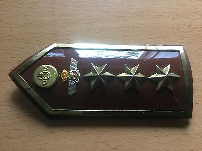 Genuine Spanish Ejercito del Aire Pala Hombrera Rank Board Shoulder Epaulette 5