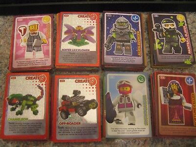 Lego Cards-Over 175.unused.perfect Condition