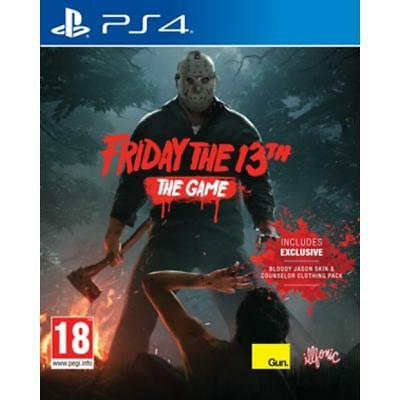 Friday The 13th The Game PS4 Factory Sealed Fast Shipping