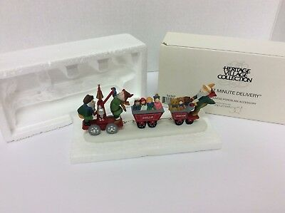 "DEPT 56 HERITAGE VILLAGE COLLECTION ""Last Minute delivery"" #56367 W/BOX"
