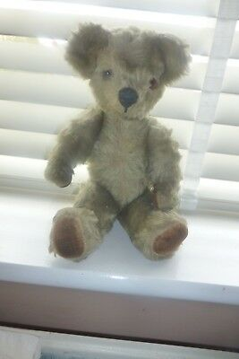 Old Vintage Teddy Bear Chad Valley 1950s