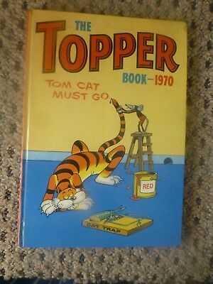 TOPPER BOOK ANNUAL 1970 EXCELLENT CONDITION o