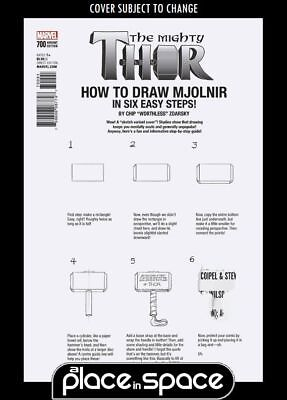 The Mighty Thor, Vol. 2 #700D - How To Draw Variant (Legacy) (Wk42)