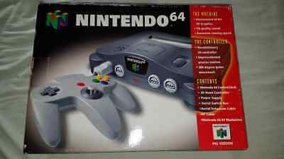 Nintendo 64 Console Box Instructions And Leaflets Only Collectors Condition