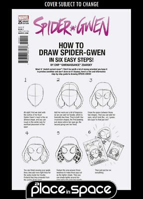 Spider-Gwen, Vol. 2 #25D - How To Draw Variant (Legacy) (Wk42)