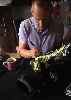 Shane Shakey Byrne Race Used Boots 2015