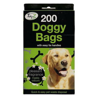 Doggy Bags Scented Pet Pooper Scooper Bag Dog Cat Poo Waste Toilet Poop Premium