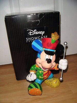 Gorgeous BAND LEADER MICKEY MOUSE Disney Britto Enesco ~ Boxed