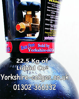 Co2 Cylinder Largel size Filled with 22.5kg Liquid Co2 For Home Brew