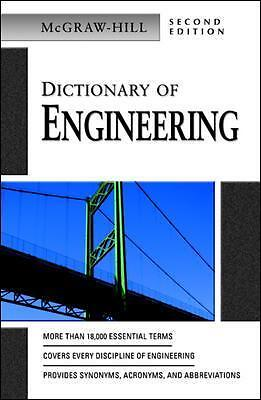 Dictionary of Engineering by McGraw-Hill -Paperback