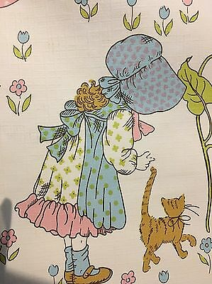 Vintage Child's Wallpaper Hobby Lobby Collection Retro 1970's Nursery 2 Rolls