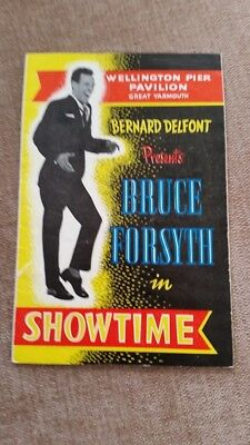 Bruce Forsyth Programme from the early 1960's