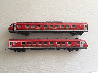Minitrix N Scale Jagermeister Passenger  Trains