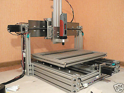 DIY homemade CNC machine (router, mill), set of plans