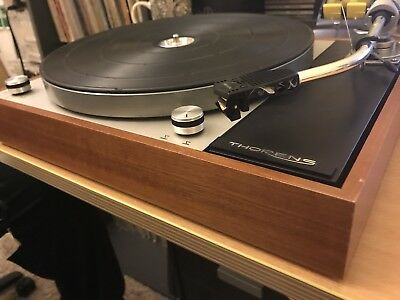 THORENS TD 150 MK 11 Turntable With SME 3009 TONEARM AND SHURE M95ED CARTRIDGE