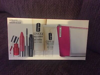 Clinique 'Party Prep' Gift Set, brand new, perfect Christmas Present!