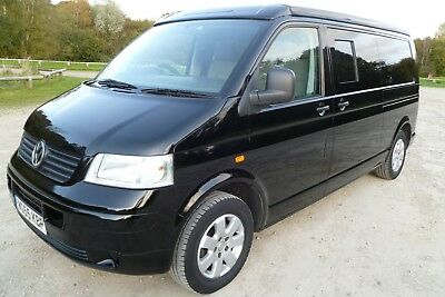 Vw T5 2.5D Lwb Camper With Brand New Full Conversion. Absolutely Stunning.