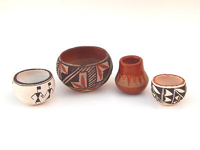 Antique Collection Native American Indain Pueblo Pottery Acoma Santa Clara
