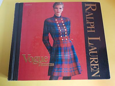 Vintage 1991 Ralph Lauren Vogue Patterns Giant Catalog Store Guide Fashion