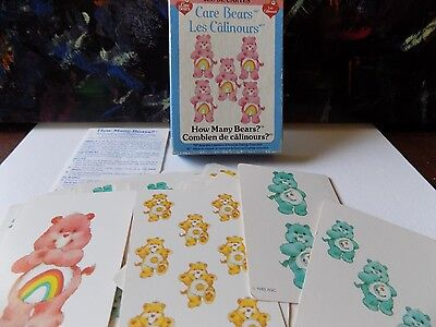 Vintage 1980s Toys Care Bears Card Game All Pieces Instructions Carebears 1983