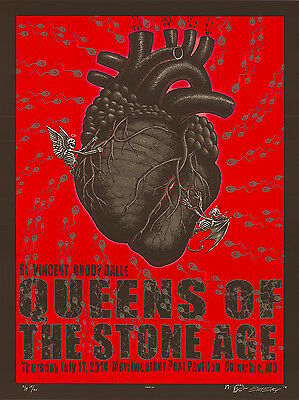 MINT EMEK Queens Of The Stone Age Columbia AP Poster 17/20