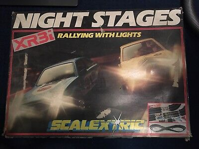 Scaletrix Night Stages Circuit Track Only. Cars Been Sold Separately