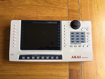 Akai S6000 Front Control Panel Display
