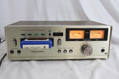 Realistic TR-883 8 Track Tape Deck Player Recorder  PROFESSIONALLY SERVICED