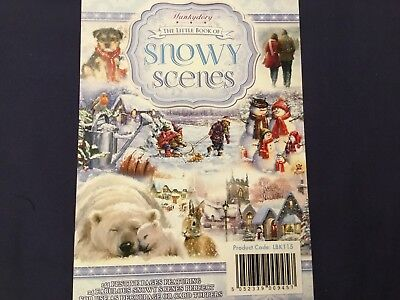 Hunkydory Little Book Of Snowy Scenes Set Of 24 A6 Fabulous Snowy Images