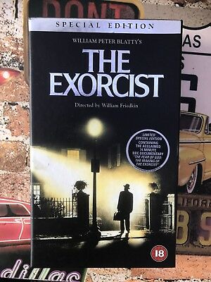 The Exorcist Special Edition VHS