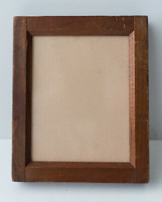 "Vintage 4"" x 5"" Wooden Contact Printing Frame (45-07)"