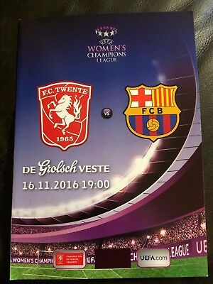 FC TWENTE v FC BARCELONA 2016-17 UEFA WOMENS CHAMPIONS LEAGUE