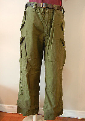 Canadian Army Od Combat Pants Size 6736