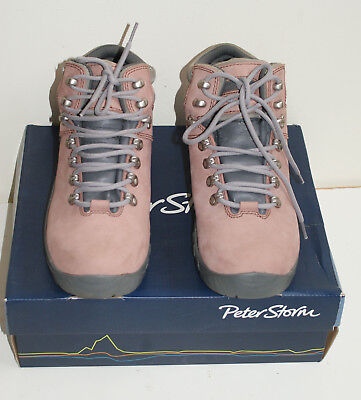 Peter Storm SKIDDAW ULTRA Women's Waterproof Walking boots. Size 8UK