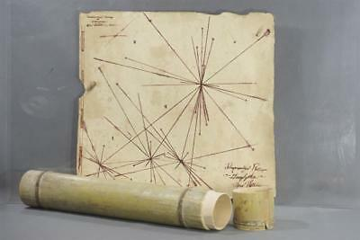 Sleepy Hollow Screen Used Vault Ley Line Map & Case Ep 405