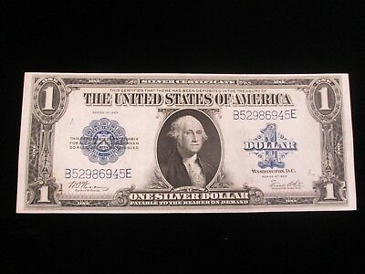 1923 $1  Silver Certificate ** HORSE BLANKET ** MINT-UNC CHOICE BU NEEDS GRADED